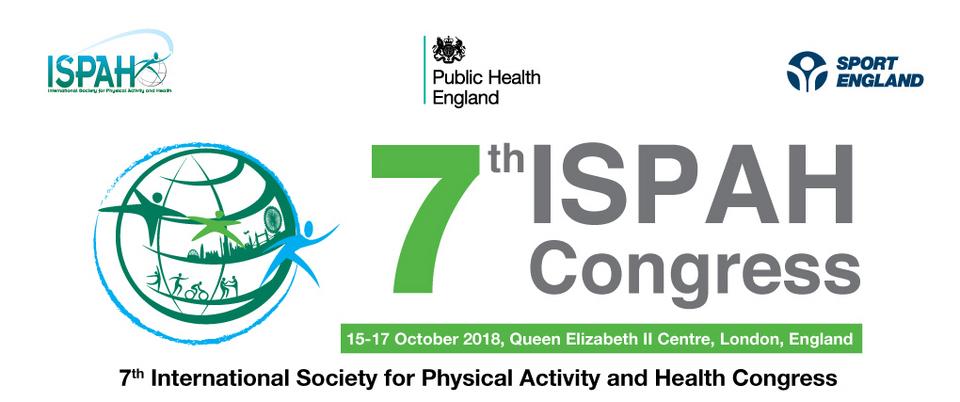 2017 ISPAH Congress 2017國際體能活動與公共衛生大會